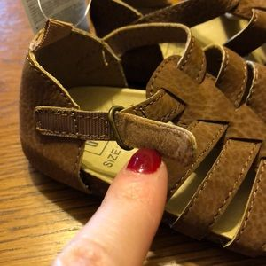GAP Shoes - Baby Gap Brown Sandals